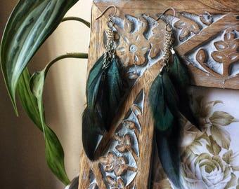 Jungle Feather Earrings