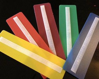 You get all 5 colorful Sentence strip: blue, yellow , green, red, and purple