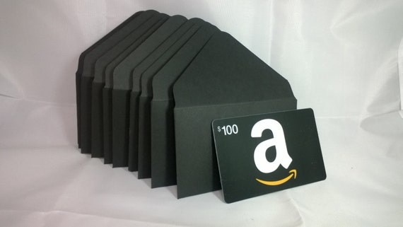 2x3 5 black gift card envelopes