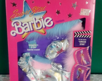Mattel Barbie dolls clothes, New in package Barbie Doll clothes, Barbie Superstar Fashion clothes 1980's Barbie Clothes Circus Star