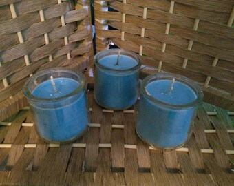 Blue Ocean Breeze Soy Container Candle