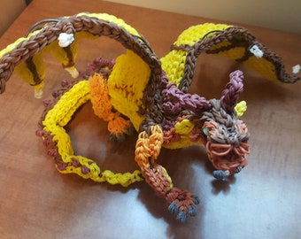 Rainbow Loom Dragon Clay from Wings of Fire