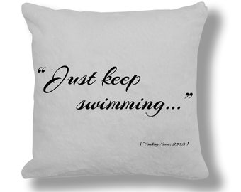 Finding Nemo 2003 Film Quote Cushion Cover (FQ023)