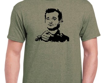 Bill Murray Stripes Classic Fit Crew Neck Tees in Sizes S-5XL