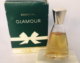 Bourjois Glamour perfume. Hugo Rare, vintage. 1960s Perfume 7ml.