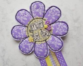 Mummy to be rosette, Flower rosette, Babyshower accessories for Mummy to be, Baby shower, Mummy to be, Mum to be