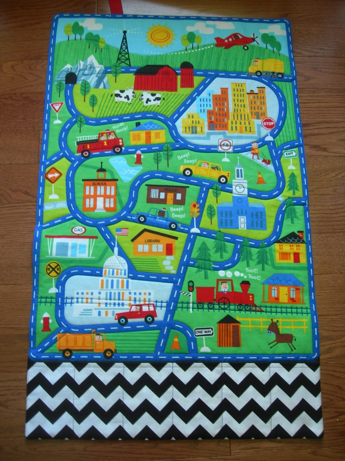 Play Mat-Town-Fold Up Play Mat-Roll Up Play Mat-Road Play Mat-Car Play Mat-Toy Car Storage-Personalized-Childu0027s Gift-Pocket Toy Storage & Play Mat-Town-Fold Up Play Mat-Roll Up Play Mat-Road Play Mat-Car ...
