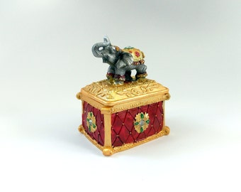 Elephant Jewelry Box Jewelry Box Elephant Jewelry Box