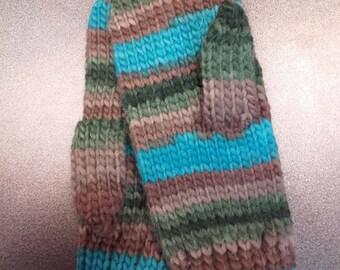Woolen Mittens Handmade with Natural Materials