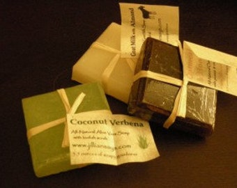 Light Scrub - All-natural vegetable soap with a light loofah scrub