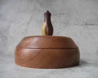 Ring Box (Mahogany and Rosewood)