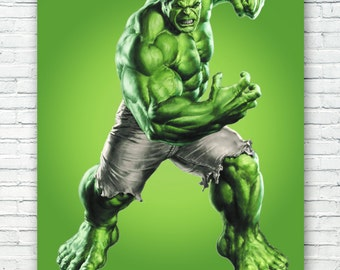 The Hulk Art Print Poster