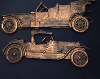 Vintage Model Car Wall Art
