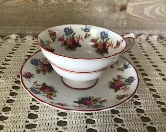 Grosvencer China England Tea Cup and Saucer