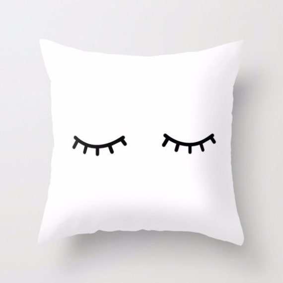 "Shut Eye 18"" Pillow Cover 
