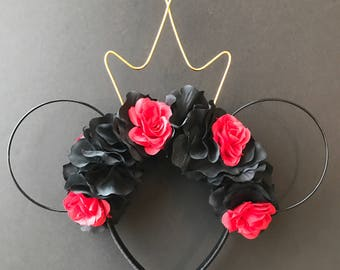 Queen of Hearts Inspired Mickey Ears