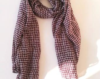 D printed scarf