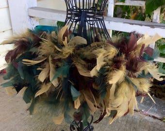 Camoflauge custom feather tutu, feather tutu, costume, dress up, custom feathers, flower girl, flower girl dress, wedding, baptism