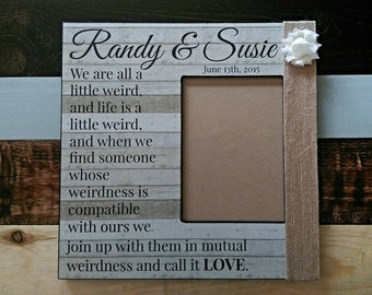 """Custom Quote Picture Frame 