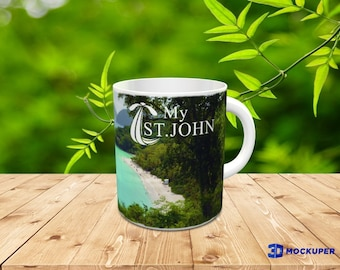 St. John Caribbean Beach Coffee Mug