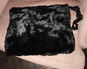 Vintage 1940s Fur Muff