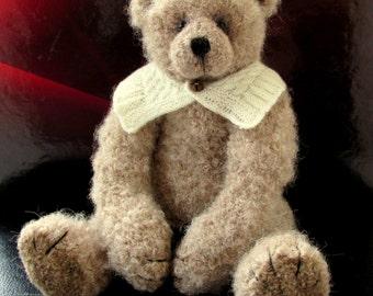 Sean - One of a kind Crochet Irish artist bear