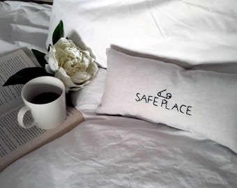 Safety Pin Pillow - Safety Pin Movement - Safe Place Pillow - Safety Pin Decor - Solidarity Decor - Ally - Co-worker Gifts - Gifts For Him