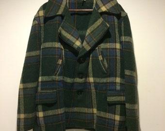 Vintage Springclad 1950s Wool Jacket