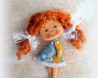 Soft Doll PATTERN, PDF, Cloth Doll Pattern, Digital Download,PDF Sewing Tutorial,pdf doll pattern