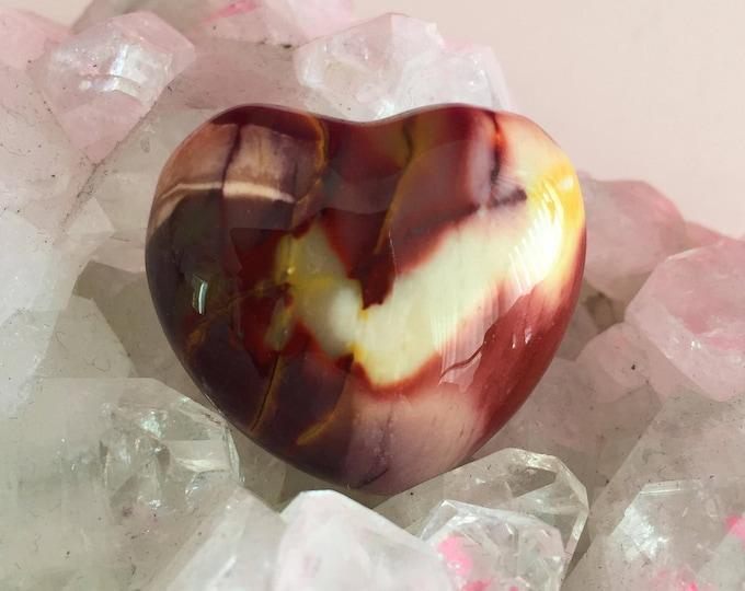 Jasper Heart Crystal, Healing Crystals and Stones
