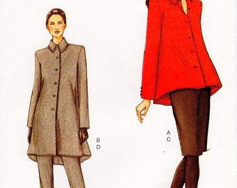 Sz 14/16/18 - Vogue Separates Pattern 7501 - Misses' Flared Jacket in Two Lengths, Pencil Skirt and Tapered Pants - Very Easy Vogue Pattern