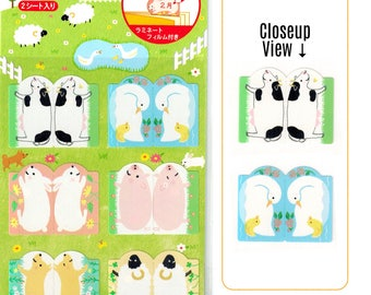 Farm Animal Index Tab Functional Planner Stickers [Sticker Sheets] // Schedule Calendar Monthly Tabs Diary Animals Dog Sheet Bird Cow //