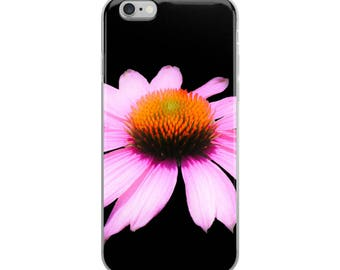 Purple Coneflower Feel Good Flower iPhone Case