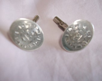 Mexican Silver Vintage Cufflinks Marked