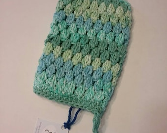 Washcloth in cotton, linen, facecloth, washcloth