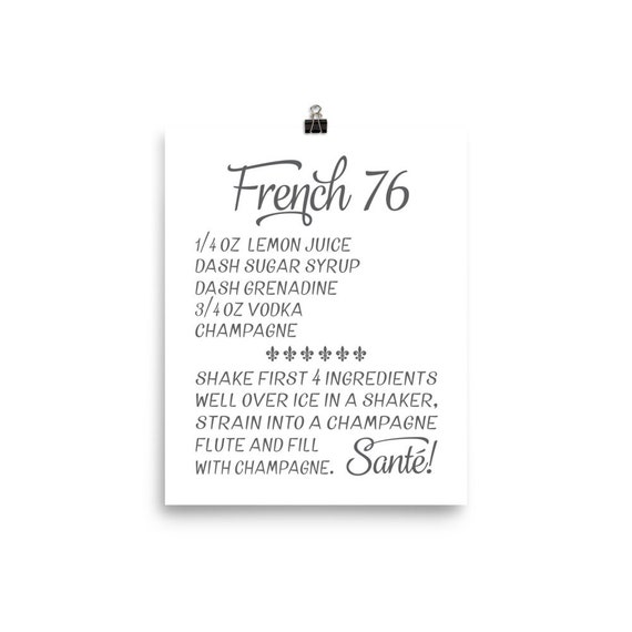 French 76 | Art Print