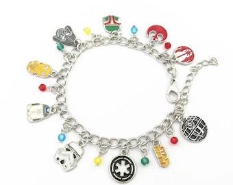 Star Wars inspired charm bracelet