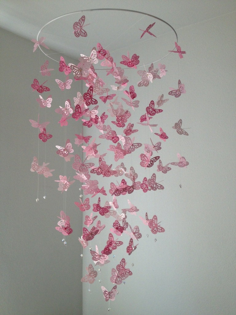 Butterfly mobile monarch butterfly chandelier mobile zoom arubaitofo Gallery