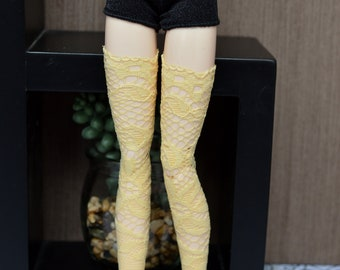 Bottom yellow lace [Pullip, Obitsu 27 cm =]