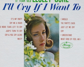 Lesley Gore – I'll Cry If I Want To 60's First Press Pop Female Vocals Vinyl LP
