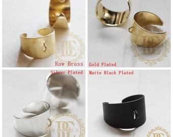 Brass Base / Ring Base / Ring / Bling Ring Base (C3767//V123)