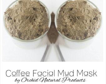 Homemade Coffee Facial Mud Mask Skin Care Regimen