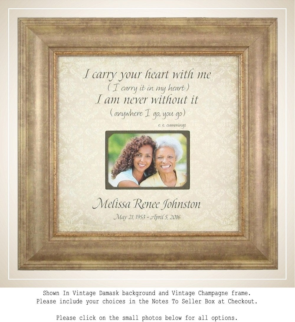 Memorial photo frame in memory of frame memorial picture description memorial photo frame jeuxipadfo Choice Image