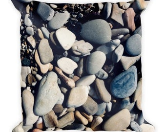 Soft as Stones E - pebble pillow - Home Decor Pillow Covers - 2 sizes available