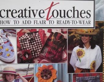 Sew Creative Ideas how to book hardbound used