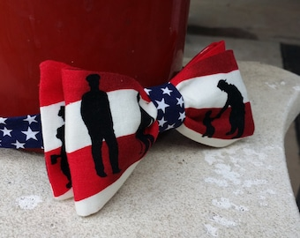 Fireman Bow Tie (adult)