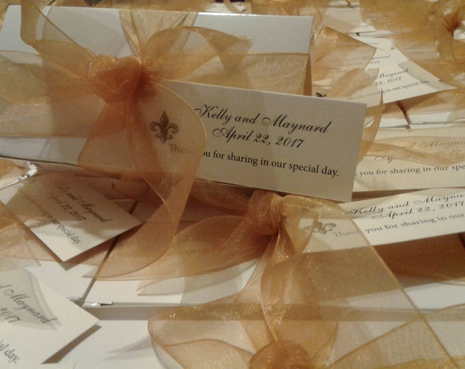 Featured listing image: Elegant Wedding Favors for that Very Special Day.  Taste of New Orleans!  Best in Quality and Taste!  DeliciousPralines by Rosalyn
