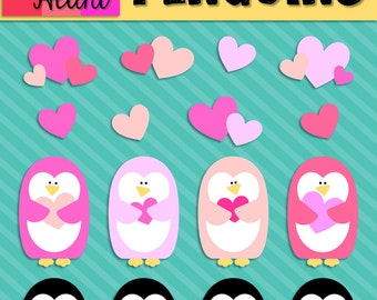 Valentine's Day Penguins