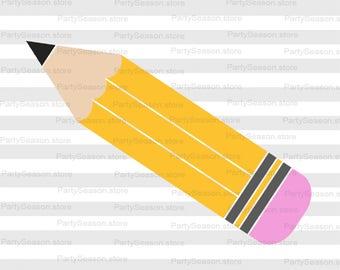 Pencil SVG School svg 100 days of school SVG Education Svg Teacher svg Penail Clip Art Cut files svg for Cricut svg files for Silhouette
