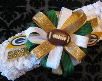 Green Bay Packers Crochet Headband